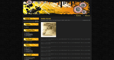 Wordpress Themes Crazy Beats No.1